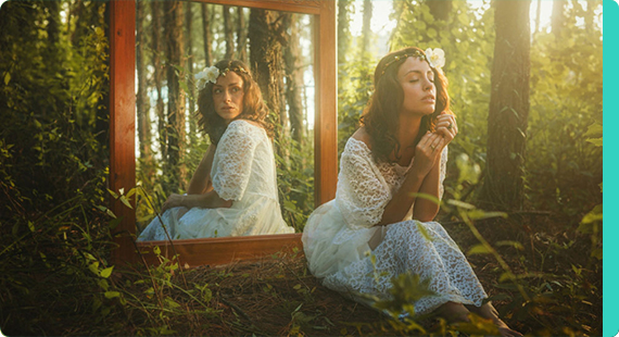 Сказка о женщине, которая не смотрелась в зеркало